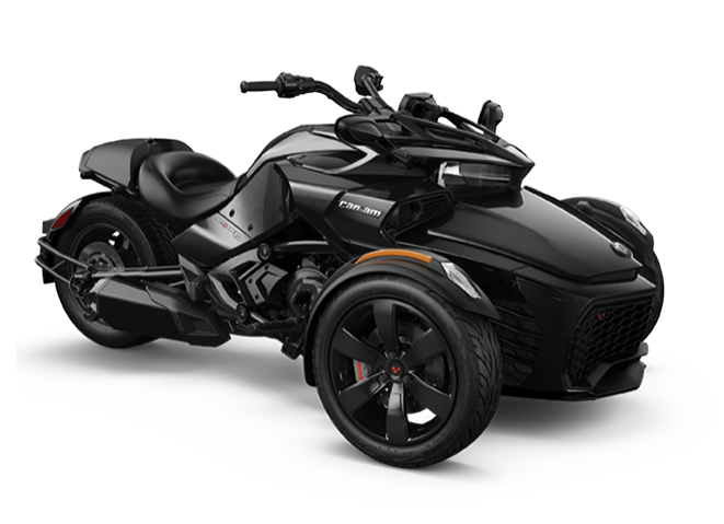 2019 Can-Am Spder F3 (black)