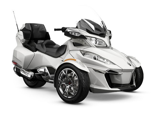 2019 Can-Am Spder RT Limited (white)