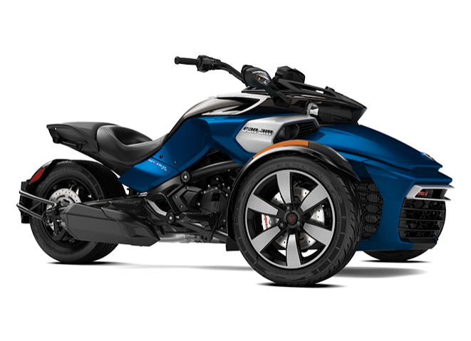 Can-Am Spyder F3 S (blue)
