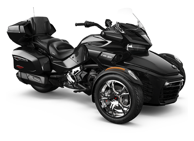 2019 Can-Am Spyder F3 Limited (chrome-black)