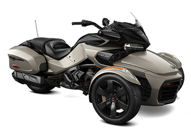 2019 Can-Am Spyder F3-T Liquid Titanium
