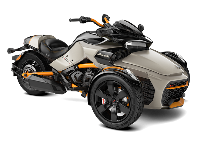 2020 Can-Am Spyder F3 S Liquid Titanium
