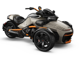 Can-Am Spyder F3-S Liquid Titanium)