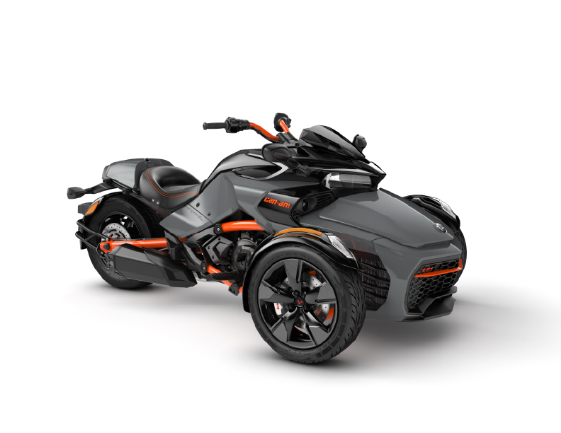 2021 Can-Am Spyder F3S Gravity Grey Special Series